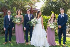 Wedding Party Wiens Family Cellars Winery In Temecula Ca Photography By Leah Marie