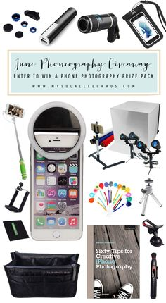 WIN A PHONE PHOTOGRAPHY PRIZE PACK
