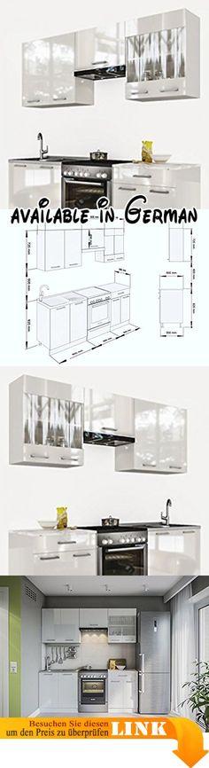 B071R4PRN2  Held Möbel 62616176 Neapel Küche Holzwerkstoff - küchenzeile 160 cm