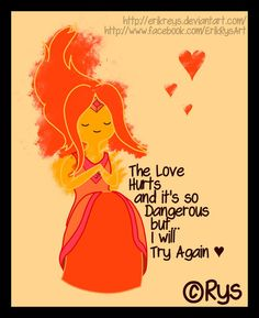 Flame Princess quote