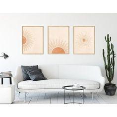 Toko Online kemmayu | Shopee Indonesia Neutral Walls, Sun Art, Print Store, Warm Colors, Boho Decor, Printable Wall Art, Wall Art Prints, Wall Decor, Poster
