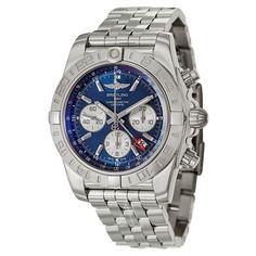 Breitling Chronomat 44 GMT Time Zone Mens Watch for sale online Breitling Chronomat, Breitling Watches, Discount Watches, Time Zones, Sale Items, Watches For Men, Luxury, Stuff To Buy, Ebay
