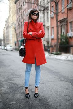 Love the red Jacket :)
