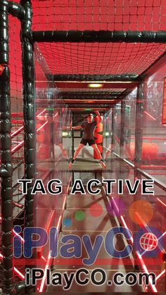 iPlayCO is proud to introduce TAG Active as the newest products in our Adrenaline Park Equipment line. TAG Active promotes fitness, fun, and competition. TAG is a new concept in social active leisure through the technological gamification of physical events. A creative blend of physical obstacles and challenging events with immersive activities that make up the multilevel, multi-zoned TAG Arenas. #iPlayCo #TAGactive #TAGjr #TAGcybertowers #AdrenalineParks Park Equipment, Underground Bunker, Game Data, Modular Walls, Party Places, Fitness Fun, Towers, Cyber, Physics