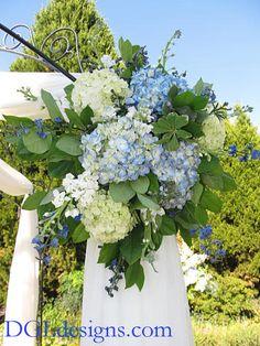 wedding arbors ideas   ... Wedding featuring our rental wrought iron chuppah / arbor / pavilion