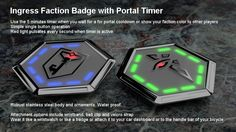 #Ingress Portal Countdown Timers for #Enlightened and #Resistance