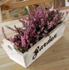 Ящики для цветов своими руками