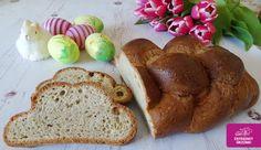 Gluténmentes szénhidrát-csökkentett húsvéti fonott kalács kelesztés nélkül (paleo) -50%-al csökkentett szénhidrát tartalommal!* (A hagyományo Paleo Sweets, Paleo Dessert, French Toast, Brunch, Gluten, Bread, Snacks, Breakfast, Desserts