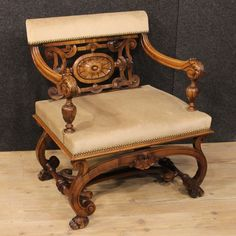 750€ French armchair in carved wood of the early 20th century. Visit our website www.parino.it #antiques #antiquariato #furniture #lacquer #antiquities #antiquario #chair #armchair #fauteuil #decorative #interiordesign #homedecoration #antiqueshop #antiquestore