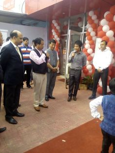 The opening day of Havells light house at padampukhuri junction, Dimapur