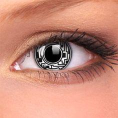 Resultado de imagem para lente de contato cinza
