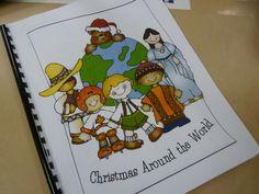 christmas around the world booklet printable   Christmas Around the World Book / ...   Christmas