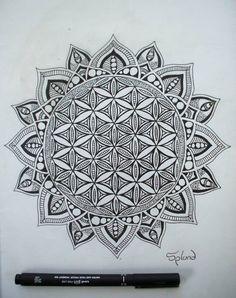 Flower Of Life Mandala by Splund-Art on DeviantArt