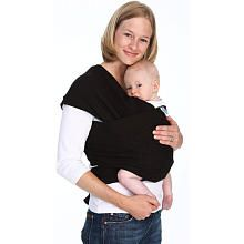 "Moby Wrap Baby Carrier - Black - Moby Wrap - Babies ""R"" Us"
