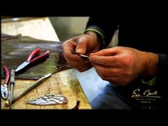 FRANCE VITRAIL INTERNATIONAL : Stained glass dome in progress - Cutting - YouTube