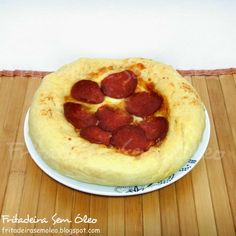 Pizza Pan (Pizza Hut) na AirFryer | Fritadeira sem Óleo - AirFryer