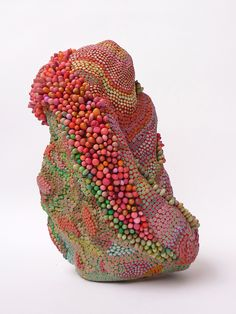 Angelika Arendt - wonderful polymer clay sculpture - love the colours and textures