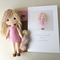 Pocket Poppet Kit - Georgie by Gingermelon on Etsy