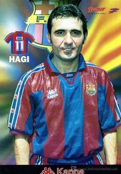 Gica Hagi, F.C. Barcelona Era muy bueno,pero no triunfó en el Barça