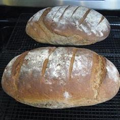 Authentic German Bread (Bauernbrot) for Oktoberfest