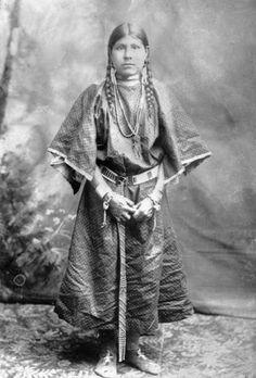 Shoshone Woman 1884.:
