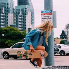 I want to go to LA and longboard all day
