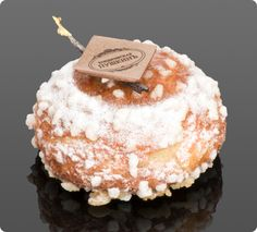 Chouquette Botchka by the amazing Emmanuel Ryon from Café Pouchkine, Paris. This is not your ordinary chou puff. It is light and filled with delicately flavoured Madagascan vanilla cream. Pastry lovers' heaven!