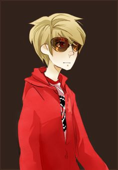 """Dave - Homestuck theres something about Dave that is unique among all the other characters. He recognizes the problems of his team as well as his own. He's a hero in his own right but never asked for the duties of a hero. """"Well maybe I never wanted to be the Knight of Time"""""""
