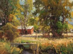 Lazy Summer Day by Kathryn Stats - Greenhouse Gallery of Fine Art