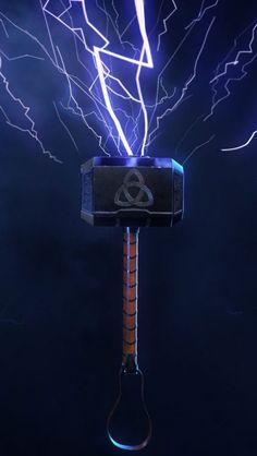 Thor Mjolnir iPhone Wallpaper