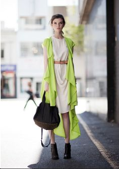 A pop of neon @That's Chic