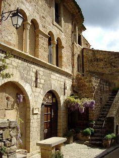 So many beautiful villages including Saint-Guilhem-le-Desert, which is on the pilgrimage route to Santiago de Compostela.