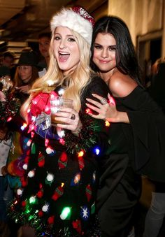 selena gomez and Meghan Trainor