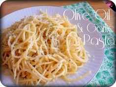Olive Oil & Garlic Pasta from Mandy's Recipe Box.