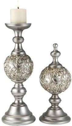 Ok Lighting OK-4219-C2 Roman Candleholder And decor
