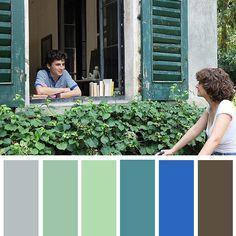 #color #컬러팔레트 #컬러공부 #영화 #colorpalette Movie Color Palette, Green Colour Palette, Colour Schemes, Color Combos, Color In Film, Cinema Colours, Color Script, Design Palette, Film Grab