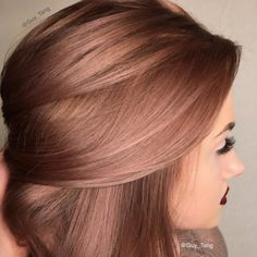 Cheveux Rose Gold Photos