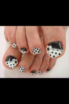 toes poke dots - Google Search