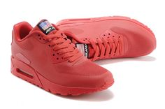 reputable site a044d 5f018 nike air max 90 hyp qs unisex all red sneakers p 2406