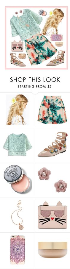 """""""091116A"""" by terebol ❤ liked on Polyvore featuring ASOS, Topshop, Chicwish, Fendi, Bobbi Brown Cosmetics, Dorothy Perkins, Folli Follie, Karl Lagerfeld, Eve Lom and Red Camel"""