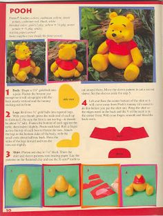 DIY: Winnie the Pooh Fimo