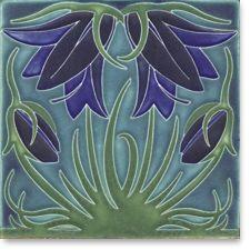 Decorative Tile Art Love This Tile  Motawi Tileworks  Art Nouveau Decor  Pinterest