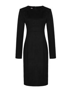 774515c9811783 LOST BY LYLA SAMUEL SUEDE DRESS BLACK STYLING TIP Dit fijne modelletje van  Lost is geschikt
