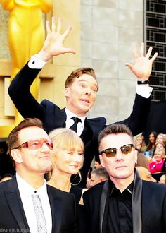 Benedict Cumberbatch, Oscars 2014! What are you doing, Ben???