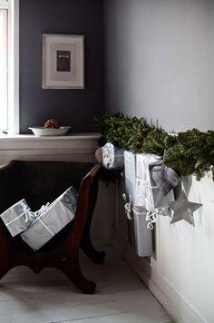 Scandinavian nature inspired Christmas decorations via...