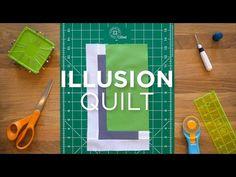 Illusion Block - Quilt Snips - YouTube