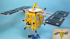 LEGO Ideas - 小惑星探査セット 小惑星探査機「はやぶさ」 あの感動をもういちど。