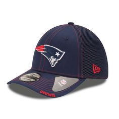 Men s New England Patriots New Era Navy Neo 39THIRTY Flex Hat 93fd1384268d