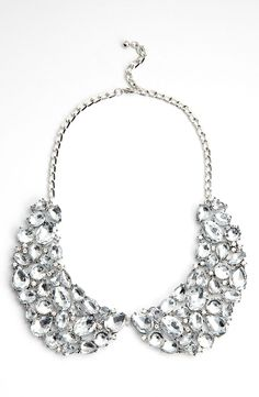 Jeweled collar necklace / On sale!