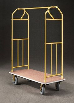 485 Glaro Value Bellman Cart with 1 Diameter Tubing and 4 Pneumatic Wheels  With Numerous Color Choices ** You can find more details by visiting the image link.  This link participates in Amazon Service LLC Associates Program, a program designed to let participant earn advertising fees by advertising and linking to Amazon.com.